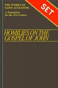 Homilies of the Gospel of John Set Hardcover