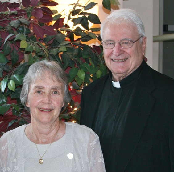 Sr. Carol Ann Smith, SHCJ and Fr. Eugene F. Merz, SJ